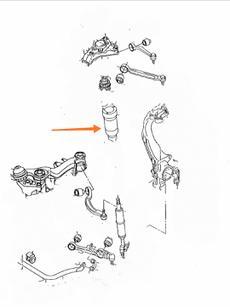 Отбойник переднего амортизатора полиуретан на AUDI A6 C5 quattro 8D0412131F цена: 324 грн.